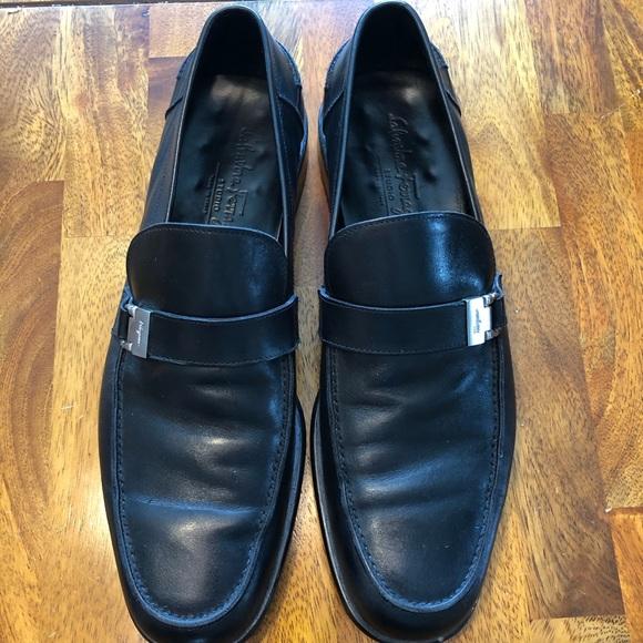 b4035e23ca31d Salvatore Ferragamo Shoes | Studio Leather Dress | Poshmark